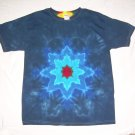 Large Mens Short Sleeve Tie Dye T-Shirt  #71