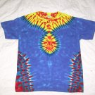 Large Mens Short Sleeve Tie Dye T-Shirt  #72