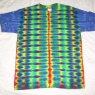 Large Mens Short Sleeve Tie Dye T-Shirt  #76