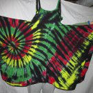 Womens X-Large Tie Dye Festival Skirt-Dress #01