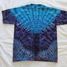 X-Large Short Sleeve Mens Tie Dye T-Shirt  #57