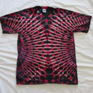 Large Mens Short Sleeve Tie Dye T-Shirt  #83