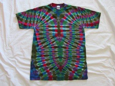 Large Mens Short Sleeve Tie Dye T-Shirt  #85