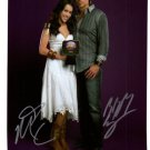 Miley Cyrus & Billy Ray Cyrus Signed 8x10 Photo Unframed W/COA