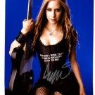 Avril Levigne Signed 8x10 Photo Unframed W/COA