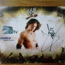 John Morrison WWE SuperStar Autographed 8x10 Unframed Metro PCS Promo Photo w/COA