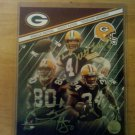 Tri Signed 8x10 Photo by 3 Green Bay Packers Brett Favre, Donald Driver, Vernand Morssey W/COA