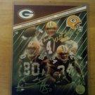 Tri Signed 8x10 Photo by 3 Green Bay Packers Brett Favre, Donald Driver, Vernand Morssey W/COA