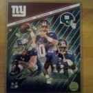 Tri Signed 8x10 Unframed Photo By 3 NFL NYG Eli Manning, Plaxico Burress, Jeremy Shockey W/COA