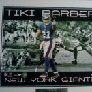 Tiki Barber NFL New York Giants Signed 16x20 Framed Limited Edition ???/2000 Steiner COA
