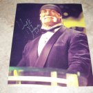 WWE WCW SuperStar HULK HOGAN Autographed Unframed 8x10 Induction Ceremony HOF w/COA