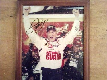 Dale Earnhardt Jr Signed Unframed 8x10 Photo W/COA