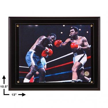 Muhammad Ali Signed 10.5x13 Framed Photo COA