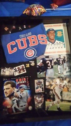 Any Teams Any Sports Any Players.!! Custom Sports Shadow Memorabilia Box