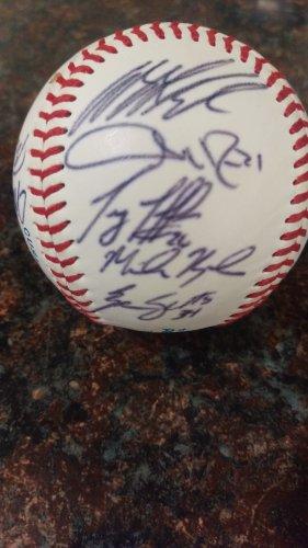 Team Signed Baseball by x13 Las Vegas 51s Baseball team