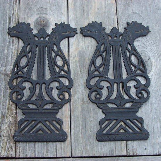 2 Metal Plaques or Trivets