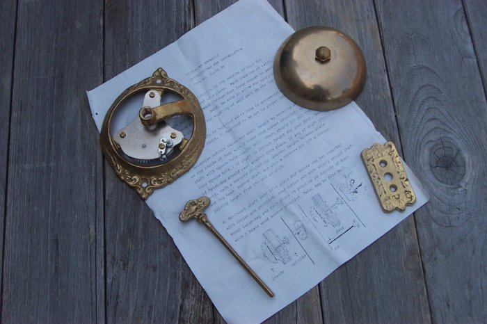 1st SOLD Victorian Door Bell reproduction