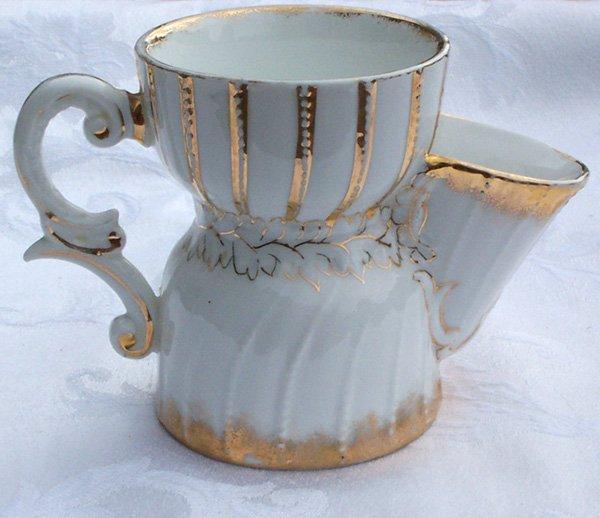 Old Tea Mug w built in infuser made in Germany