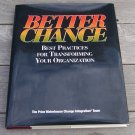 Better Change by The Price Waterhouse Change Integration Team