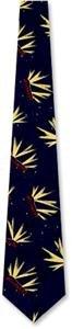 Hollywood Hills by Nextwear navy blue silk ties