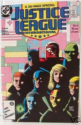 DC COMIC JUSTICE LEAGUE INTERNATIONAL #7 38-pg special
