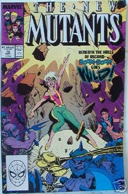 "MARVEL COMIC ""The New Mutants"" VOL 1, #79 Sept 1989"