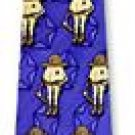Trooper Smart Ass Novelties blue ice silk ties - NEW!