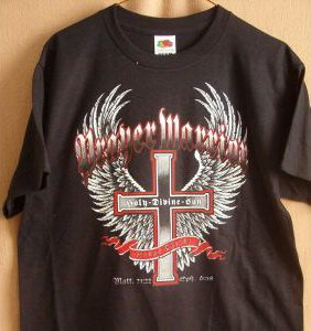 """PRAYER WARRIOR"" NEW BLACK T-SHIRTS"