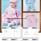 Butterick 4333 Infants Bunting, Jacket, Pants, Hat