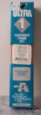 """Hardwood Framing Section 6"""" Honey woodgrain - Ultr"""