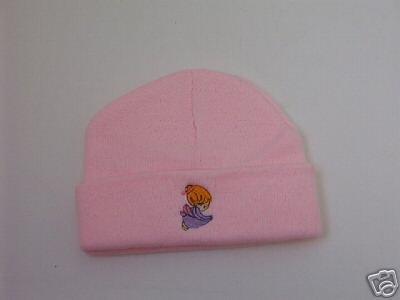 Pink Infant tobogan - hat - beanie