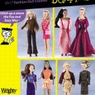 Simplicity 7073 11 1/2 Inch Fashion Dolls for Dummies