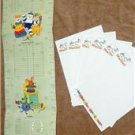 Baby gift set - Growth chart w/ stationary - Keepsake