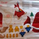 """NICK OF TIME SANTA"" printed sewing pattern"