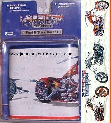 American Choppers Motorcycle Wall Border