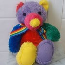 RAINBOW BABY Plush rattle