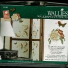 SILK FLORAL and Butterflies Wallies Wallpaper Cutouts