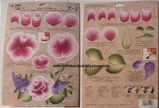 Donna Dewberry One Stroke Cabbage Rose RTG