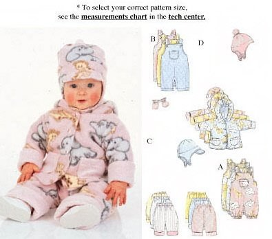 Butterick 5713 Baby Fashion Essentials
