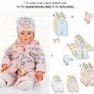Butterick 5713 Baby Fashion Essentials