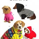 McCall's 5544 PET PULLOVERS sewing pattern