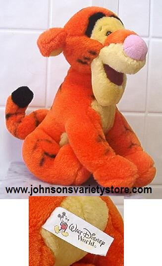 "Disney Tigger - Disney World Souvenir 8"" Plush"