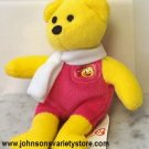 Very Rare Birdie the Bear Ty McDonalds Collectible