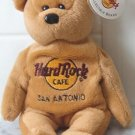 Hard Rock Cafe - San Antonio Beanie bear NEW 1st series