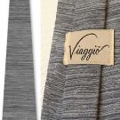 Roister by Royal Knight / Vaiggio silver silk tie