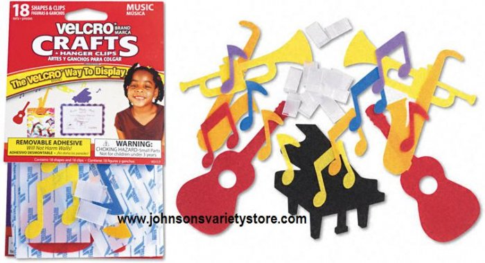 Velcro® MUSIC Display Shapes - Crafts