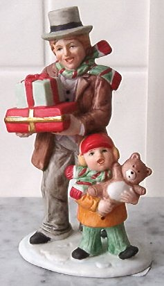Homco Christmas figurine MINT