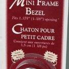 "Walnut Hollow Mini Frame Bezel 1 1/2"" silver"
