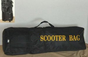 SCOOTER Motorcycle BAG & BACKPACK - BLACK