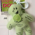 Green Job Voodoo Doll clip New!
